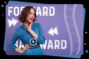 How to forwarding/Backward in Media Player